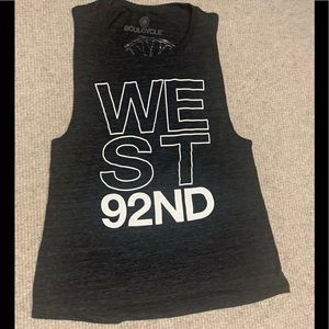 Soulcycle West 92nd tank top new